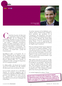 Editorial du maire de Bures